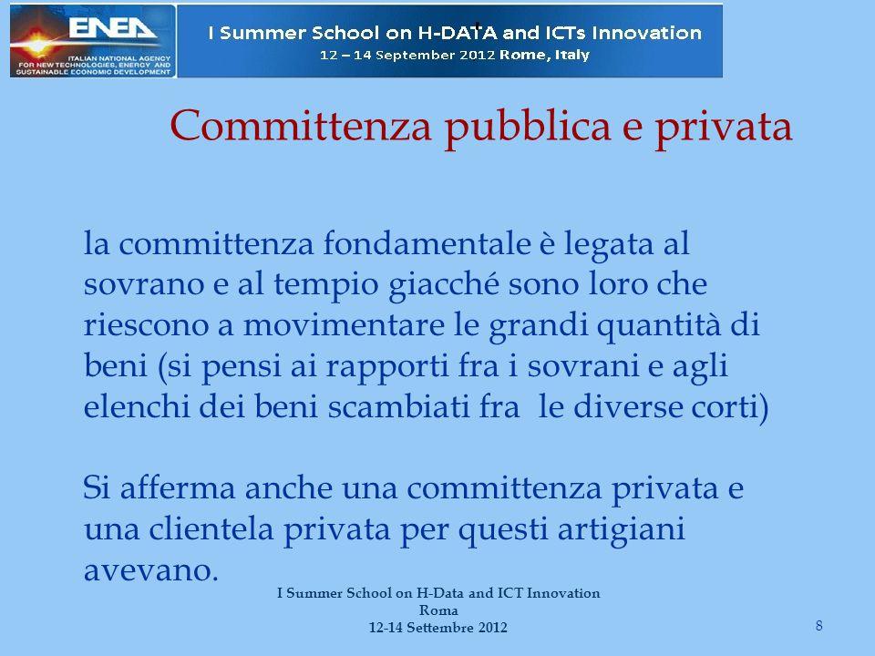 Committenza pubblica e privata