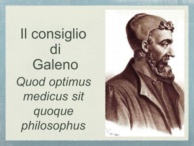 Quod optimus medicus sit quoque philosophus