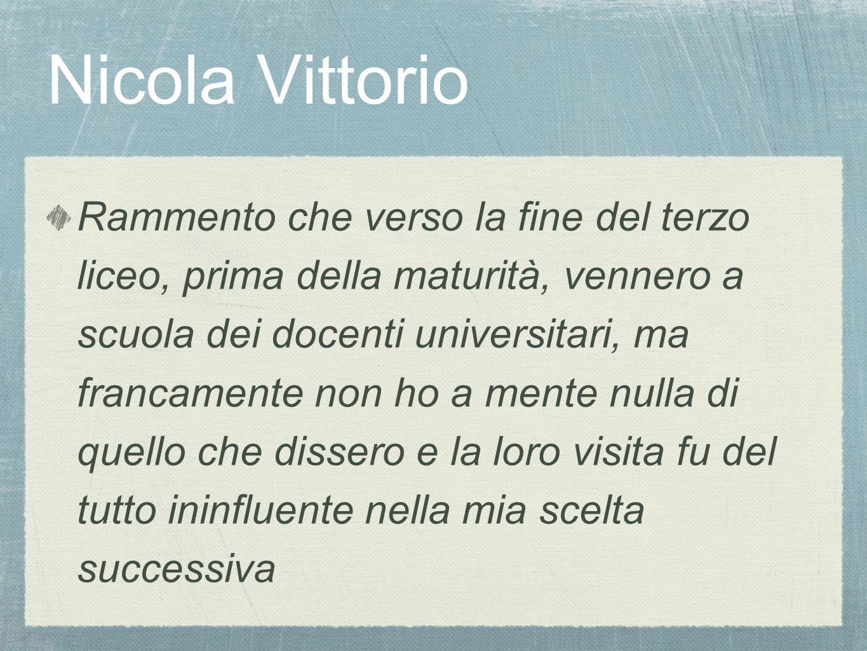 Nicola Vittorio