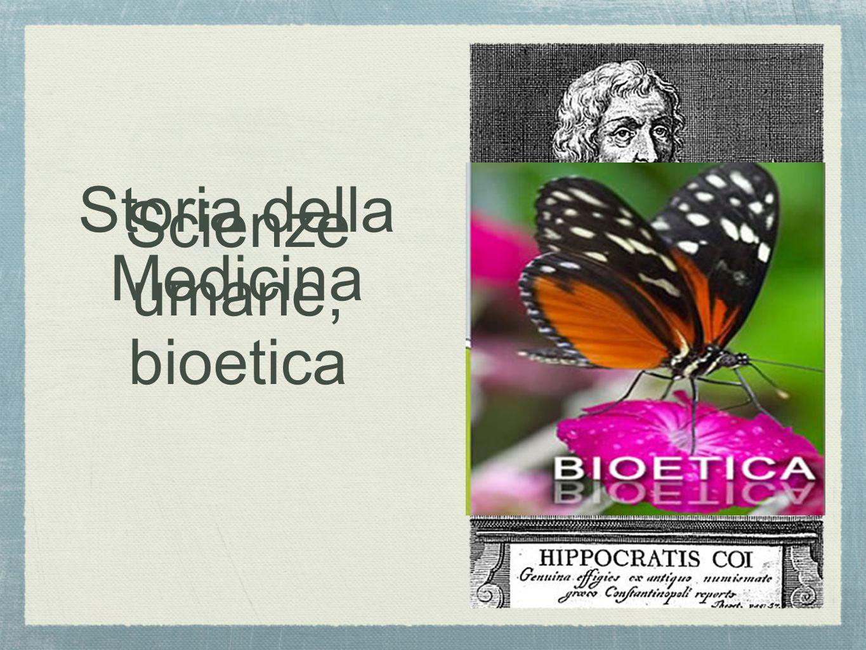 Scienze umane, bioetica