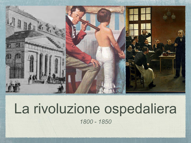 La rivoluzione ospedaliera