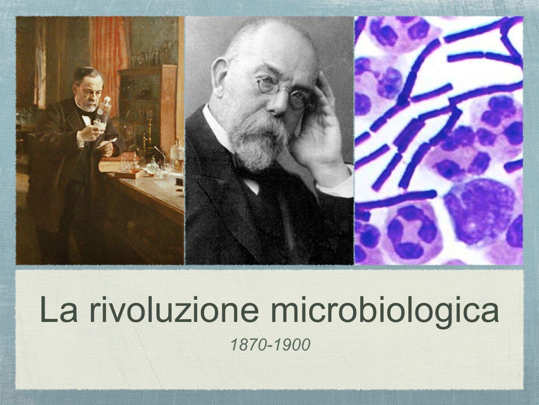 La rivoluzione microbiologica