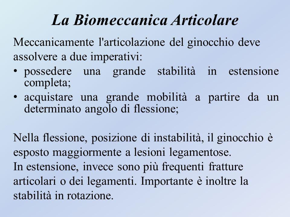 La Biomeccanica Articolare
