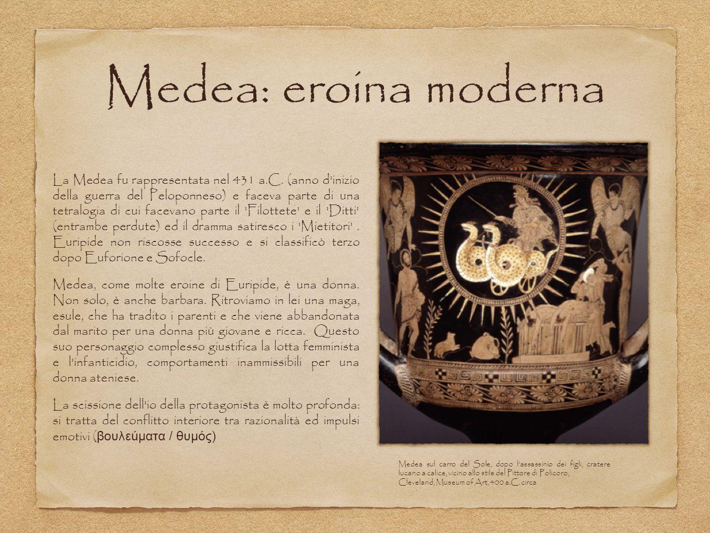 Medea: eroina moderna