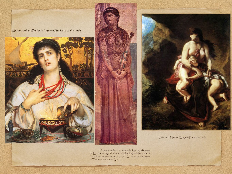 Medea Anthony Frederick Augustus Sandys 1868 olio su tela
