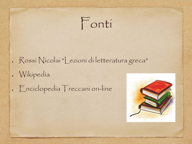 Fonti Rossi Nicolai Lezioni di letteratura greca Wikipedia