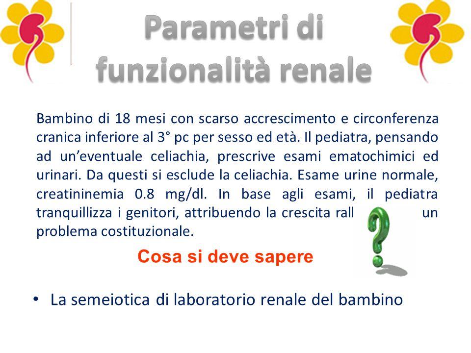 Parametri di funzionalità renale