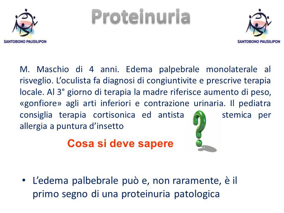 Proteinuria Cosa si deve sapere