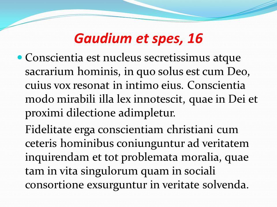 Gaudium et spes, 16