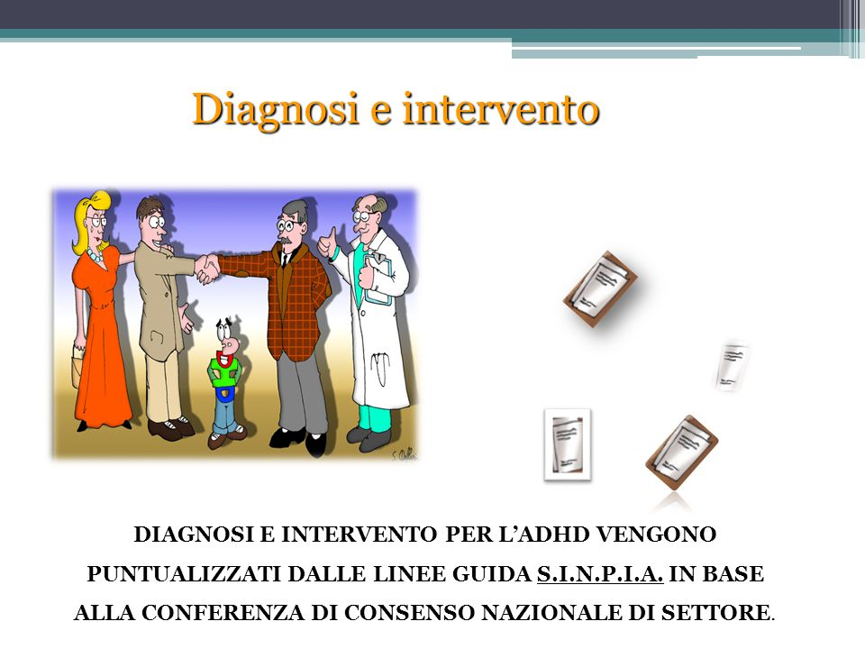 Diagnosi e intervento