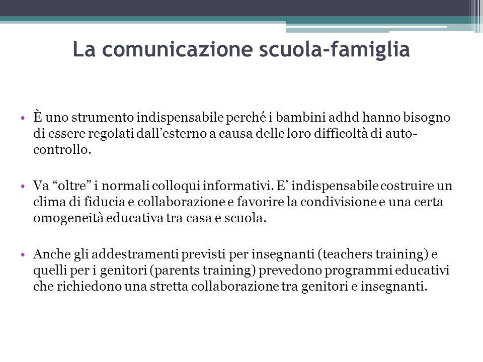 La comunicazione scuola-famiglia