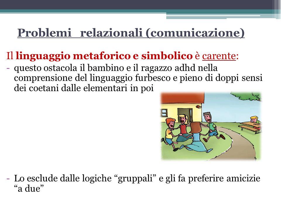 Problemi relazionali (comunicazione)
