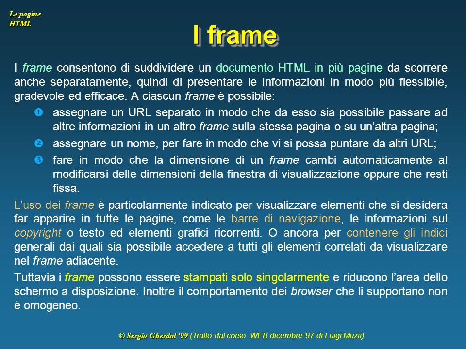 I frame