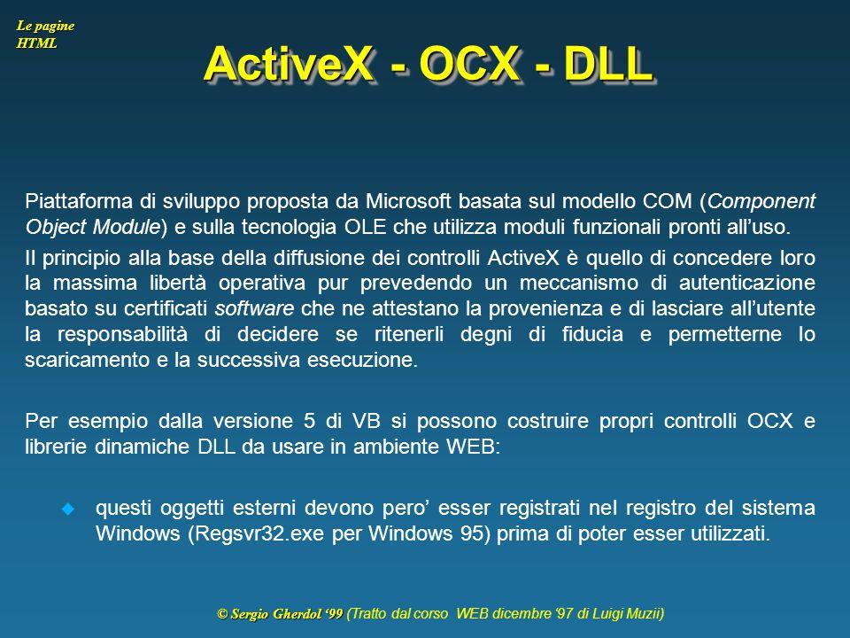 ActiveX - OCX - DLL