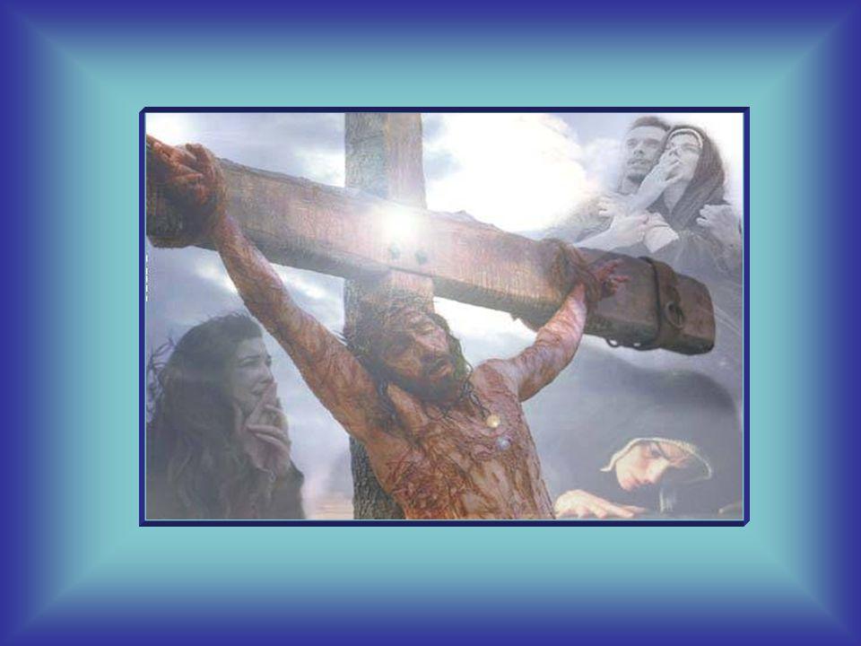Infatti tutto il negativo di ogni uomo, tutto il nero del mondo, Gesù l'ha preso su di sé, se ne è rivestito, l'ha compenetrato e ha redento tutto.