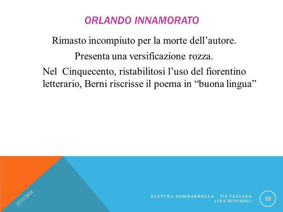 Orlando Innamorato