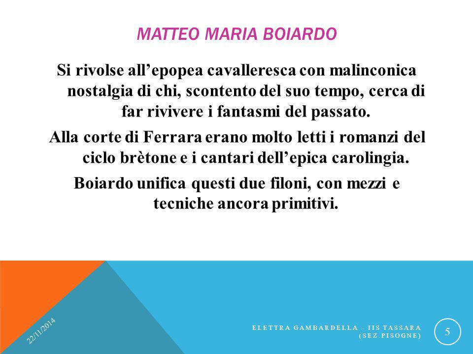 Matteo Maria Boiardo