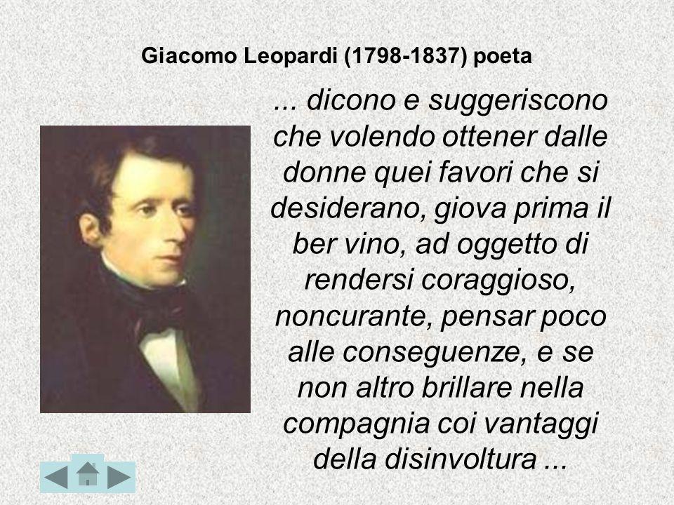 Giacomo Leopardi (1798-1837) poeta