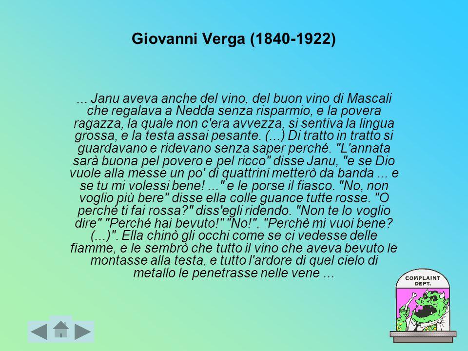 Giovanni Verga (1840-1922)