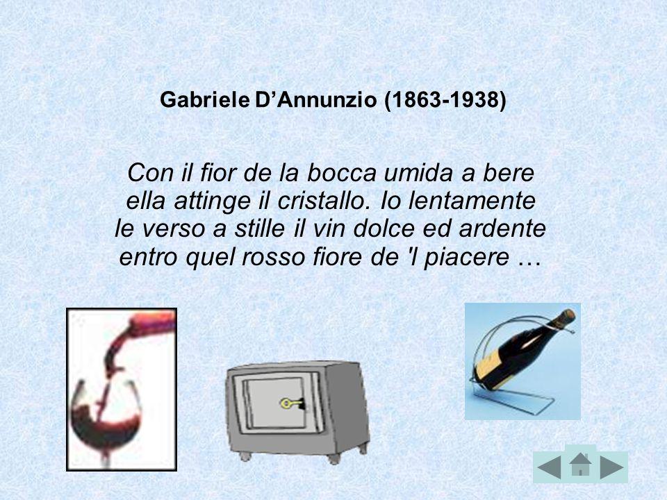Gabriele D'Annunzio (1863-1938)