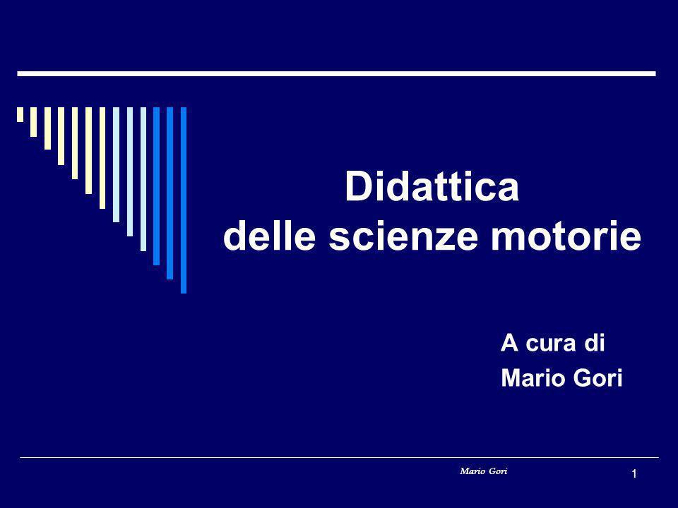 Didattica delle scienze motorie