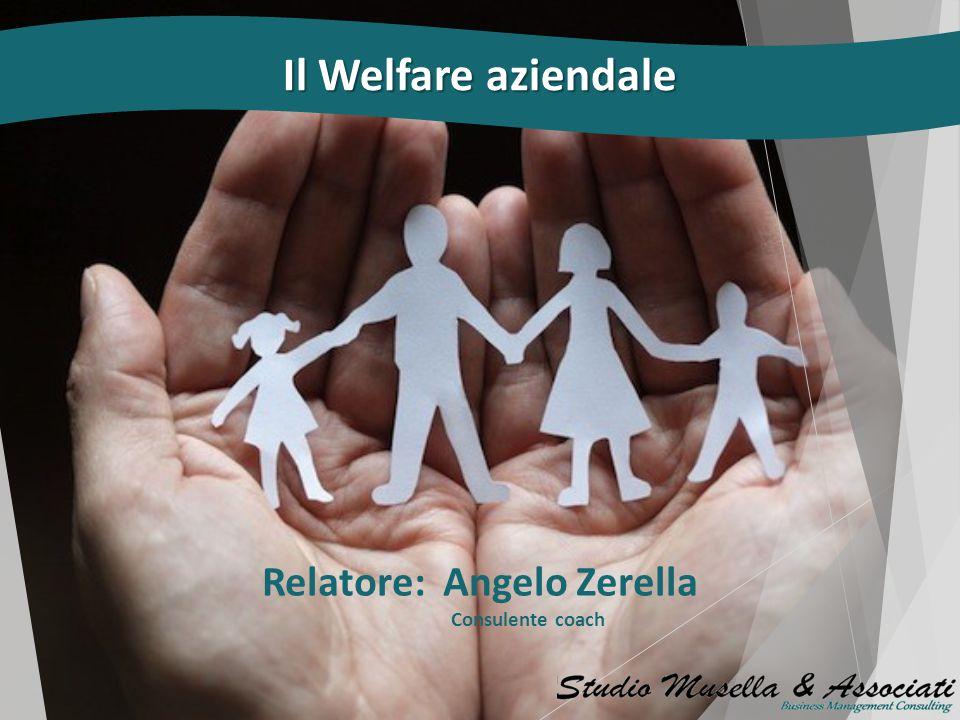 Relatore: Angelo Zerella