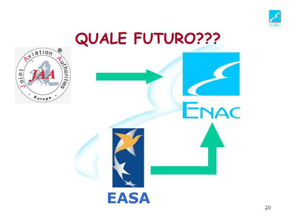 QUALE FUTURO EASA