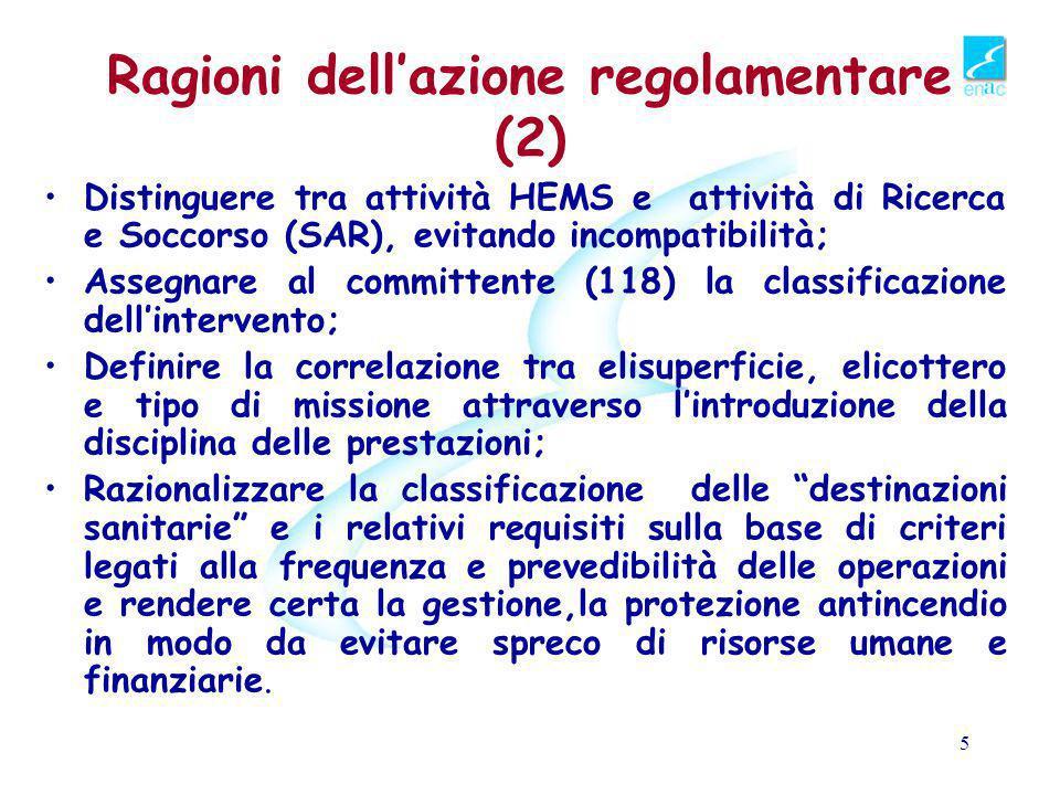 Ragioni dell'azione regolamentare (2)
