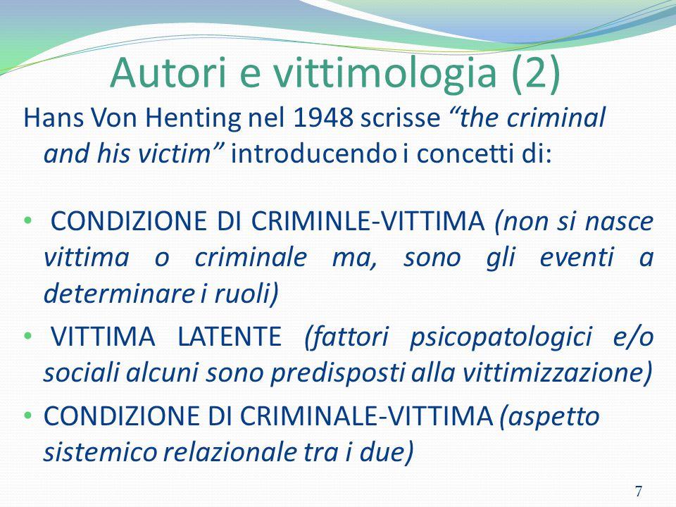 Autori e vittimologia (2)
