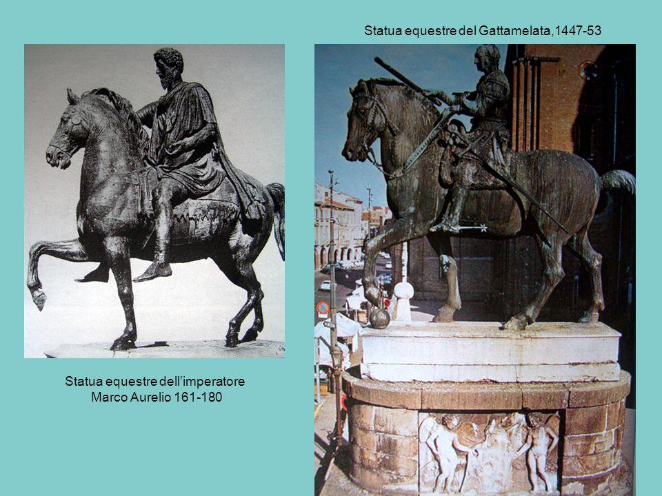 Statua equestre del Gattamelata,1447-53