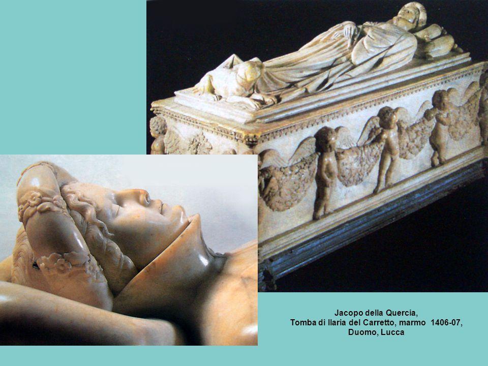 Tomba di Ilaria del Carretto, marmo 1406-07,