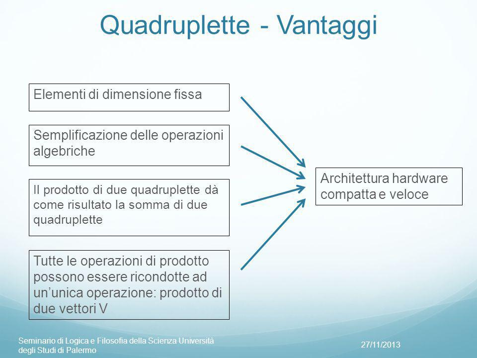 Quadruplette - Vantaggi