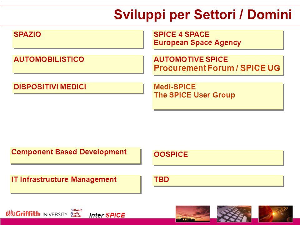 Sviluppi per Settori / Domini