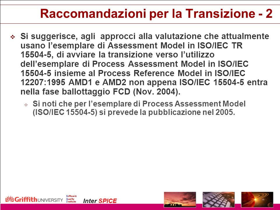 Raccomandazioni per la Transizione - 2