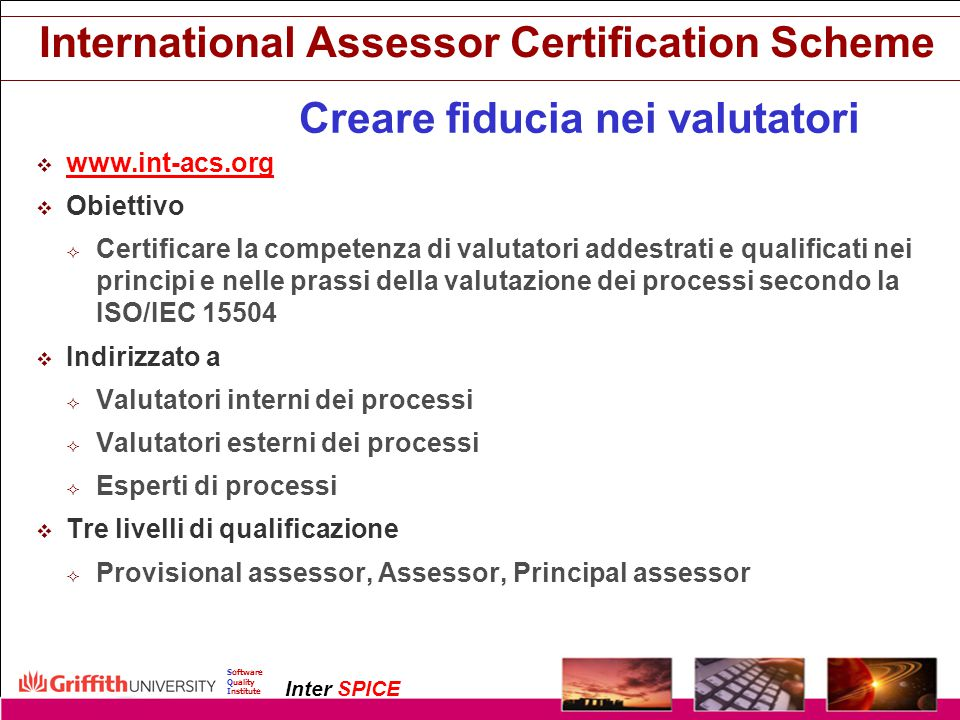 International Assessor Certification Scheme