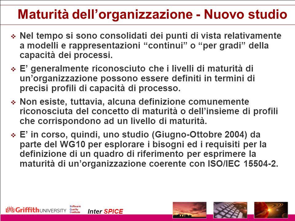 Maturità dell'organizzazione - Nuovo studio
