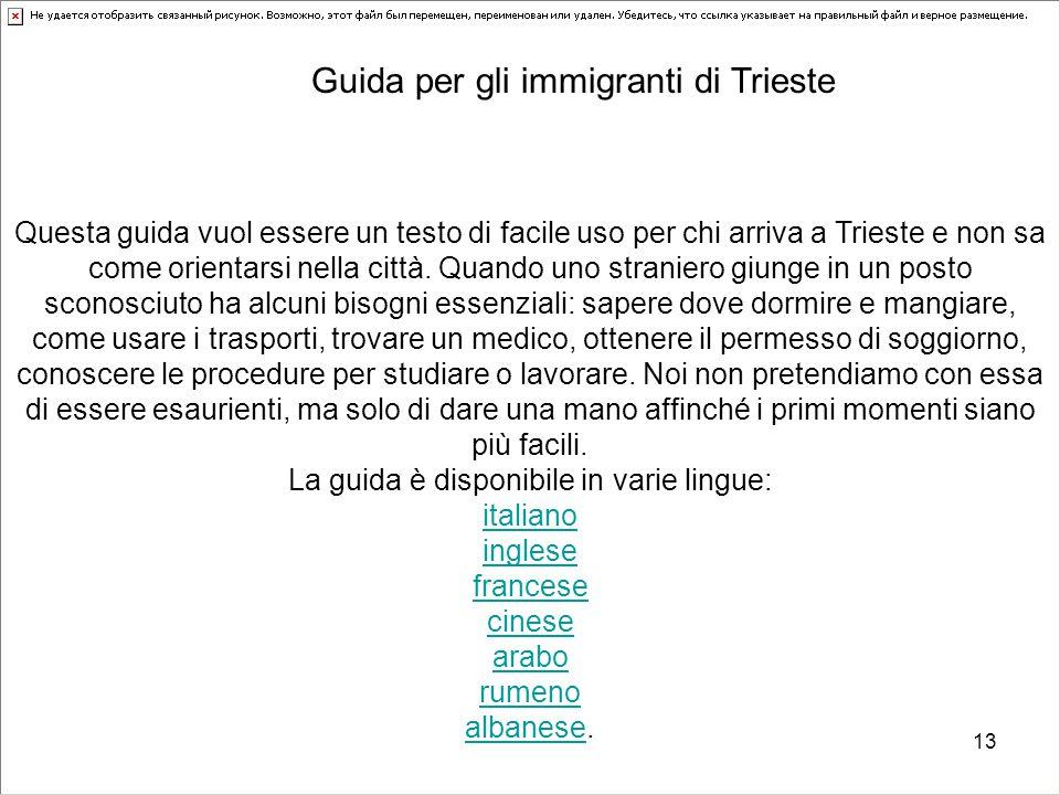 La guida è disponibile in varie lingue: