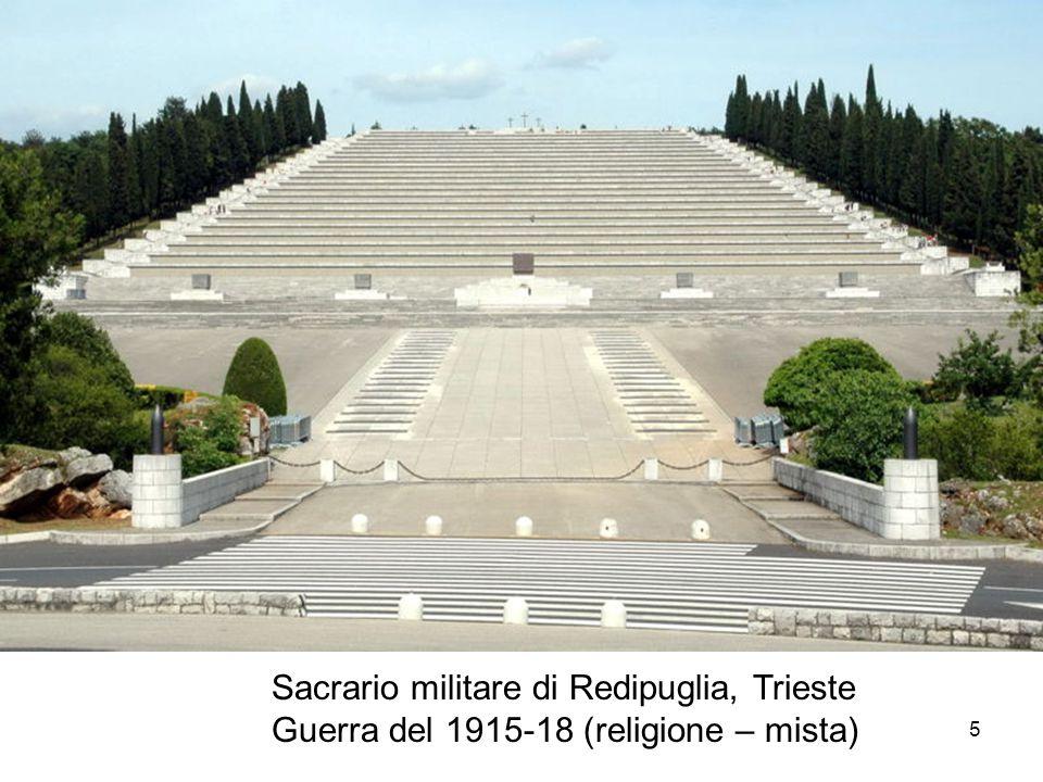 Sacrario militare di Redipuglia, Trieste