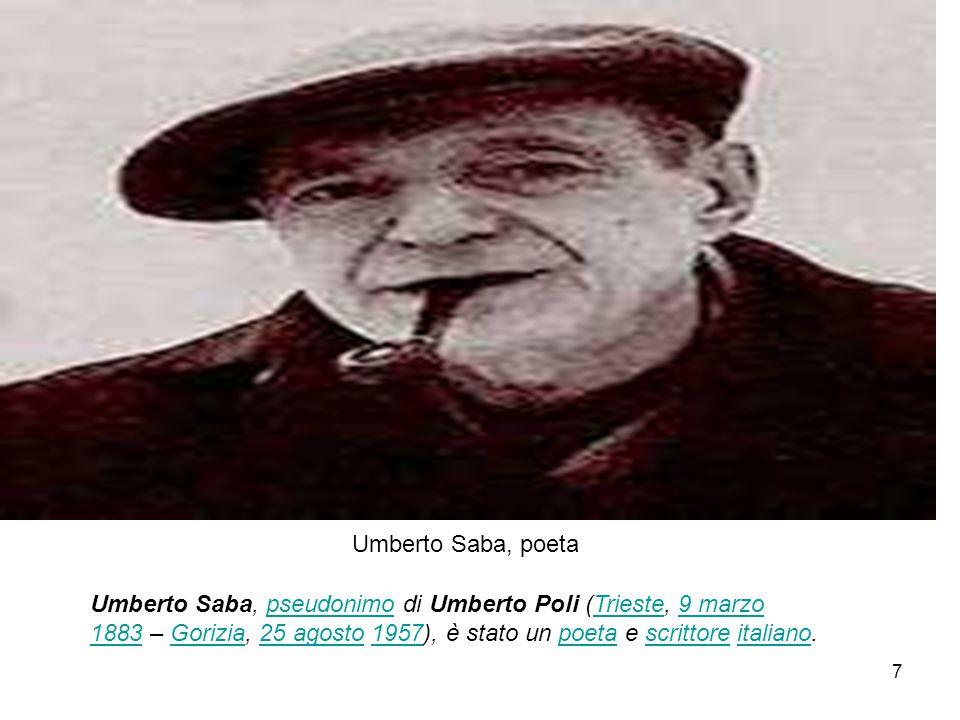 Umberto Saba, poeta