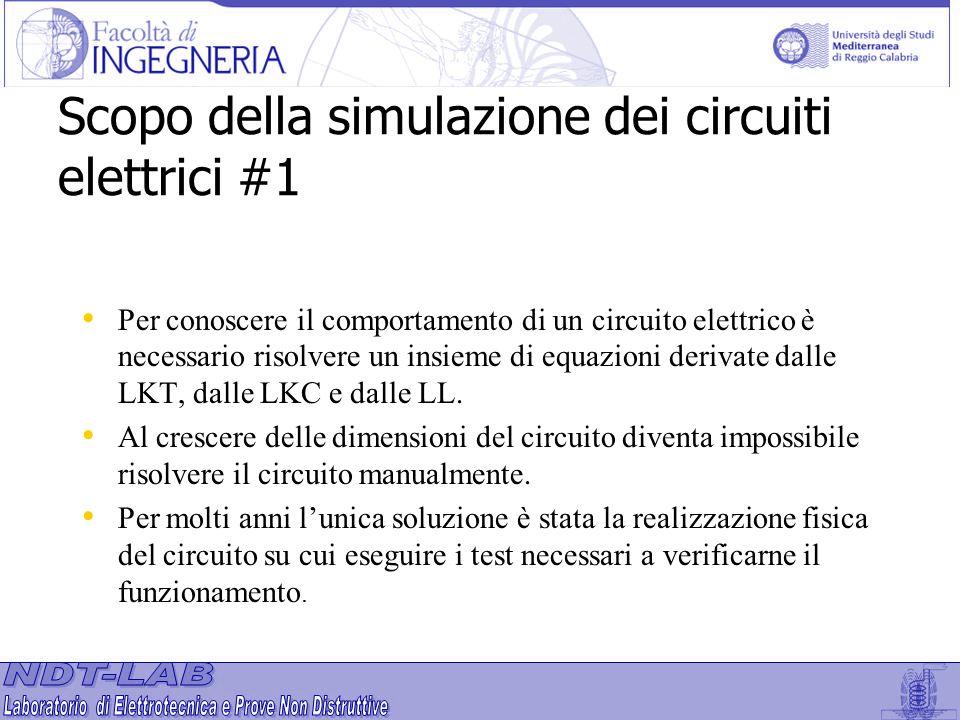 Scopo della simulazione dei circuiti elettrici #1