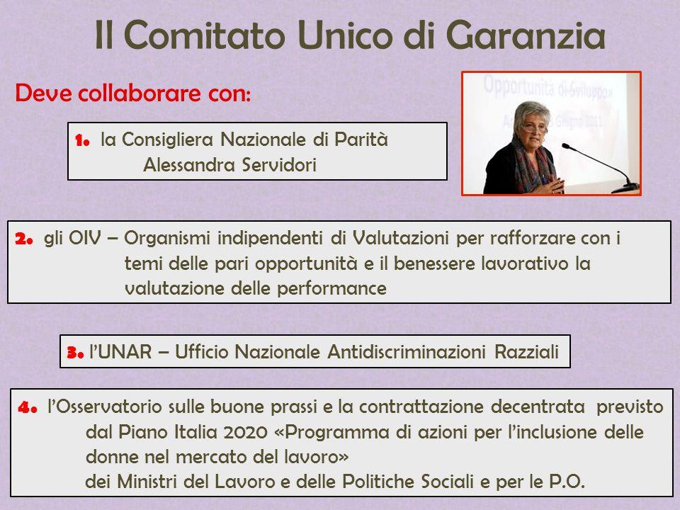 Il Comitato Unico di Garanzia