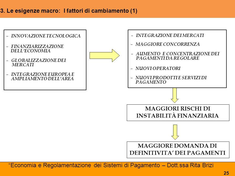 3. Le esigenze macro: I fattori di cambiamento (1) (1)