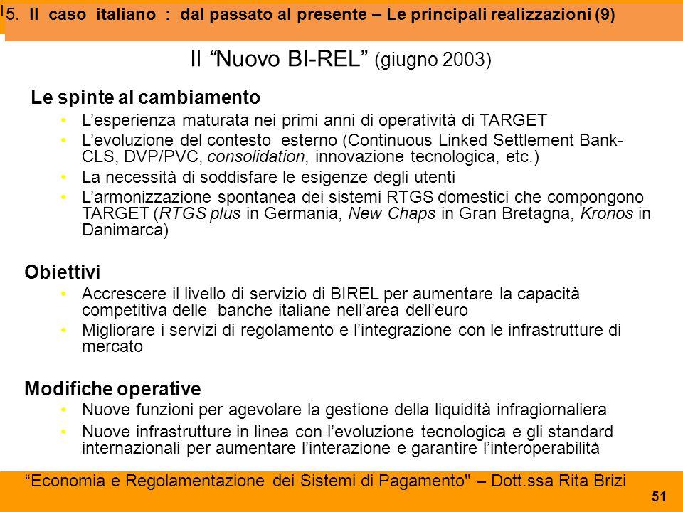 Il Nuovo BI-REL (giugno 2003)