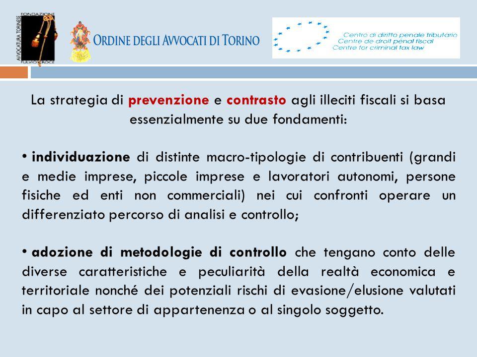 La strategia di prevenzione e contrasto agli illeciti fiscali si basa essenzialmente su due fondamenti: