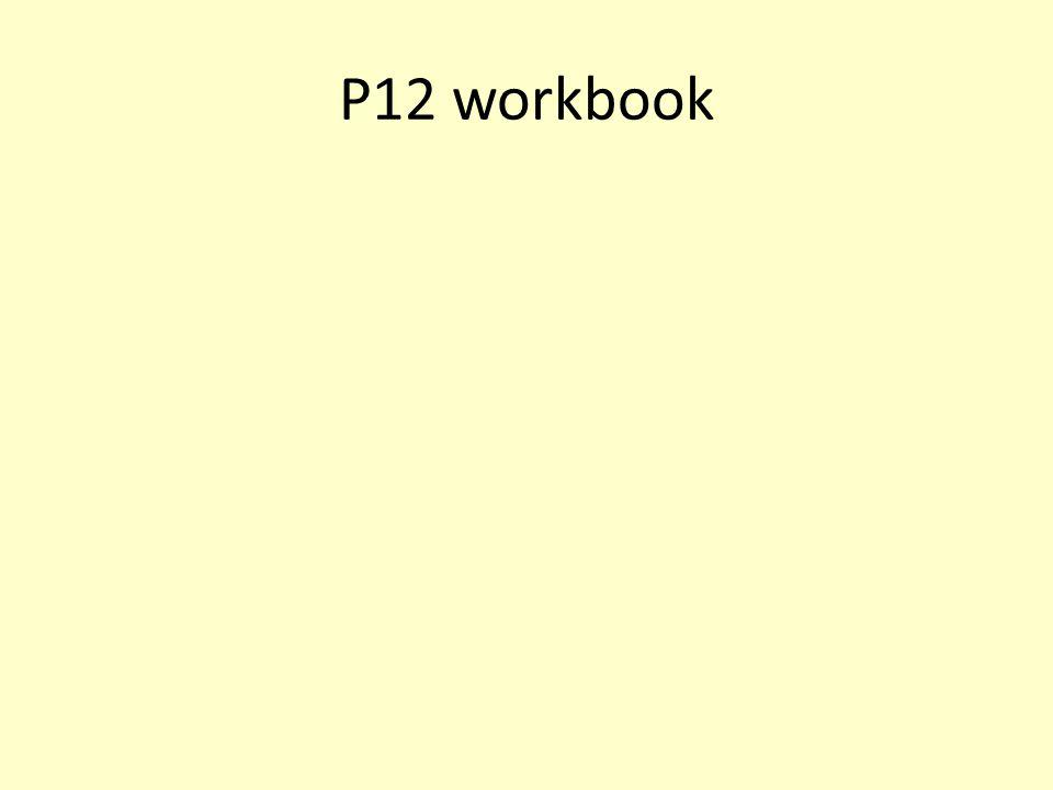 P12 workbook
