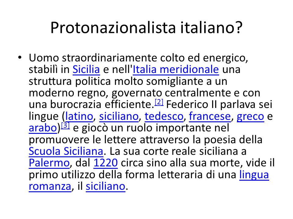 Protonazionalista italiano