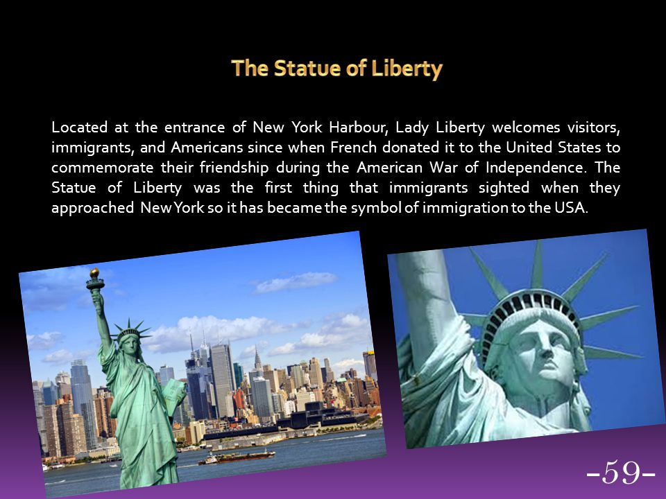 -59- The Statue of Liberty