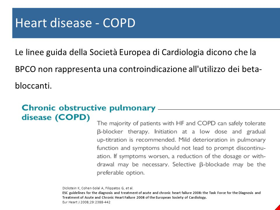 Heart disease - COPD