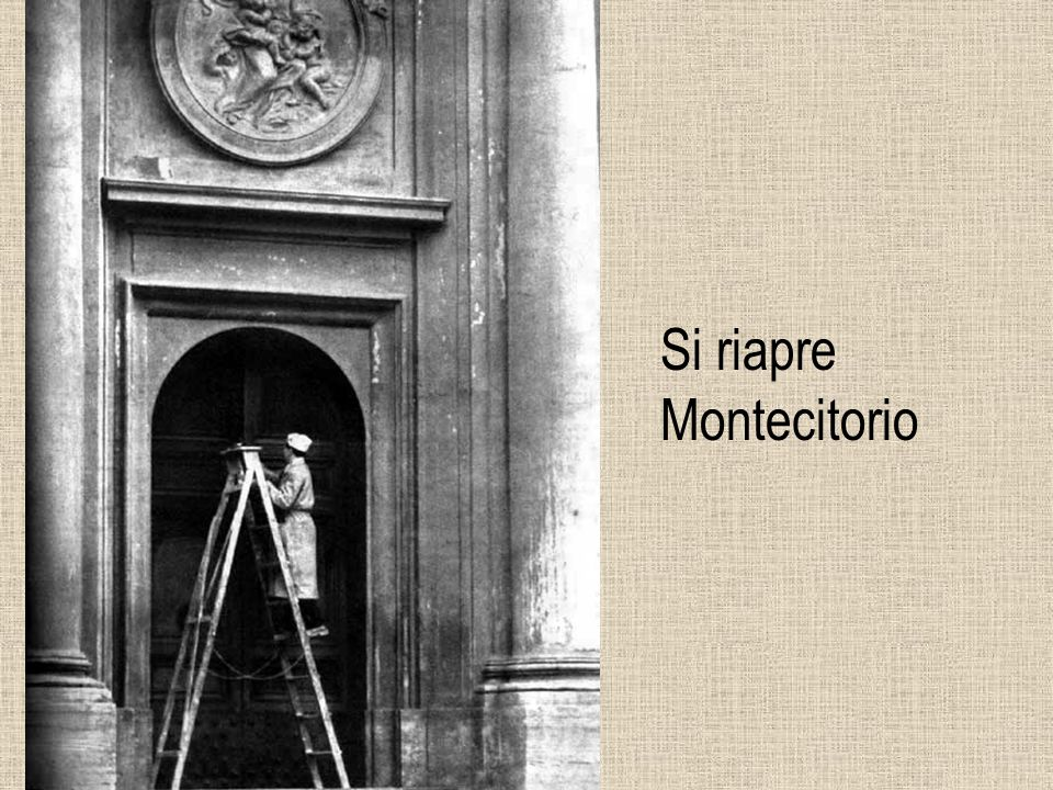 Si riapre Montecitorio