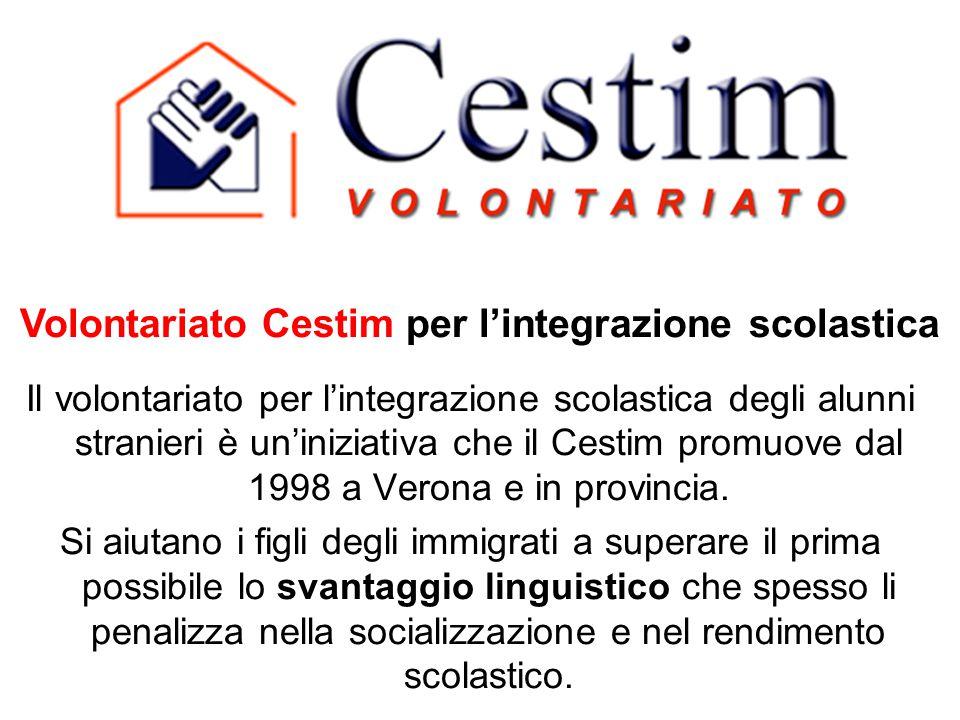 Volontariato Cestim per l'integrazione scolastica